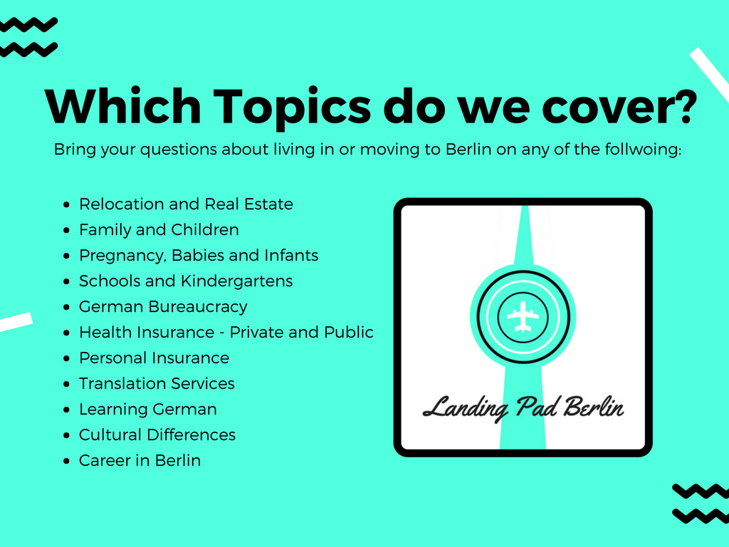 The Landing Pad Berlin Topics covered