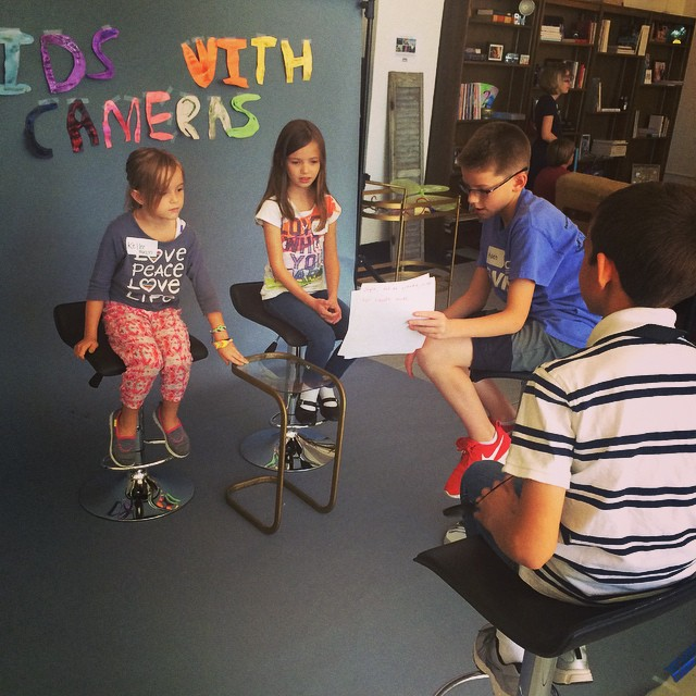 Photo of Kids with Cameras 2014
