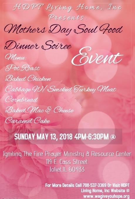 Mothers Day Soul Food Dinner Soiree