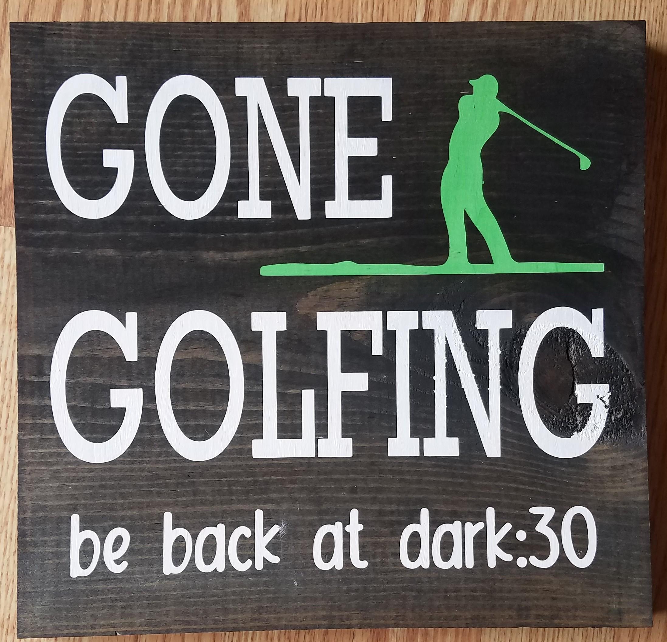#2. Gone Golfing