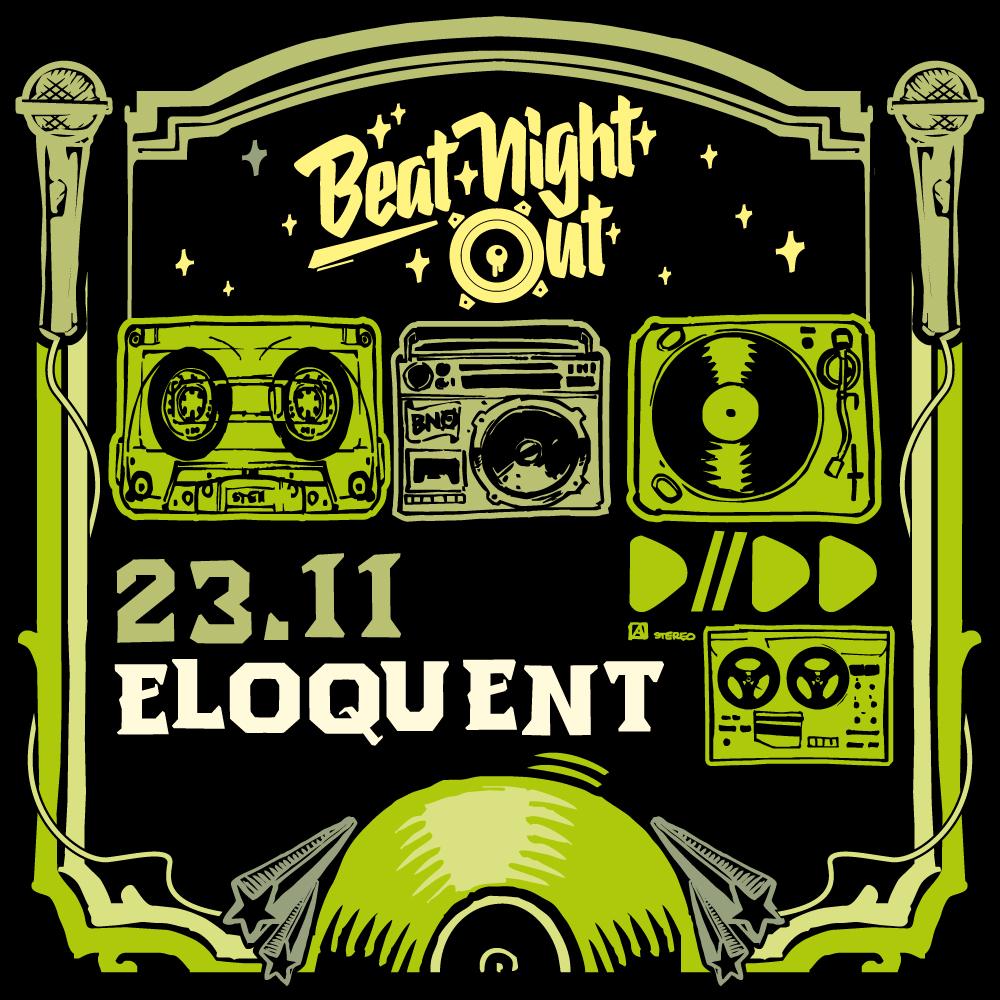 BeatNightOut - Eloquent | 23.11.19 Regensburg