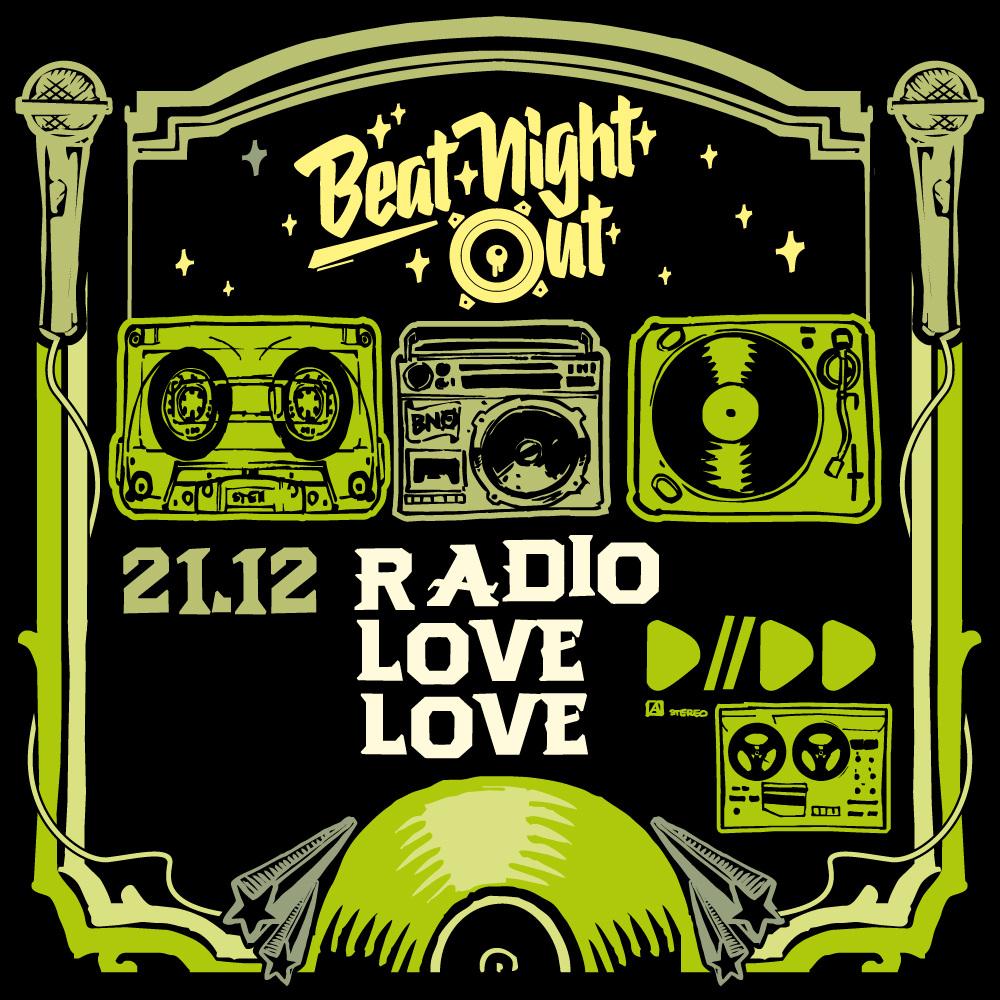 Radio Love Love (Twit One & Hulk Hodn) at BeatNightOut Regensburg 21.12.19
