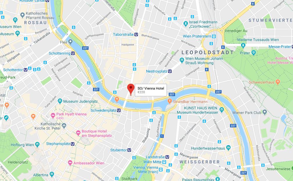 sofitel map