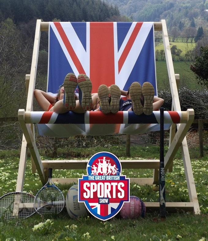 The Great British Sports Show deckchair