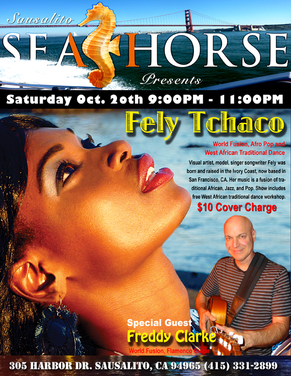 Fely Seahorse Poster
