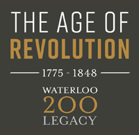 waterloo 200 age of revolution logo