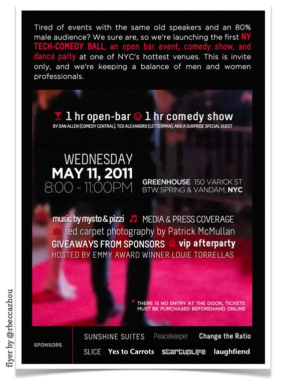 NY Tech Comedy Ball!!