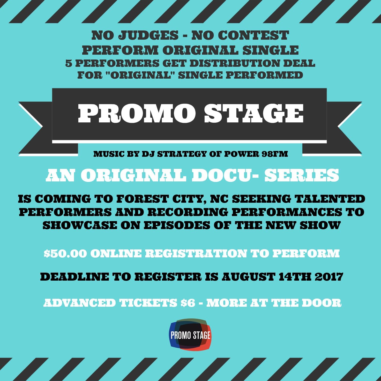 Promo Stage NC