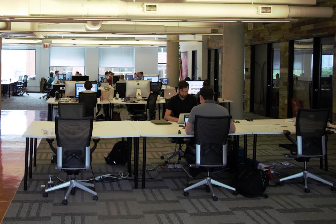 Coworking at Coalition Impact