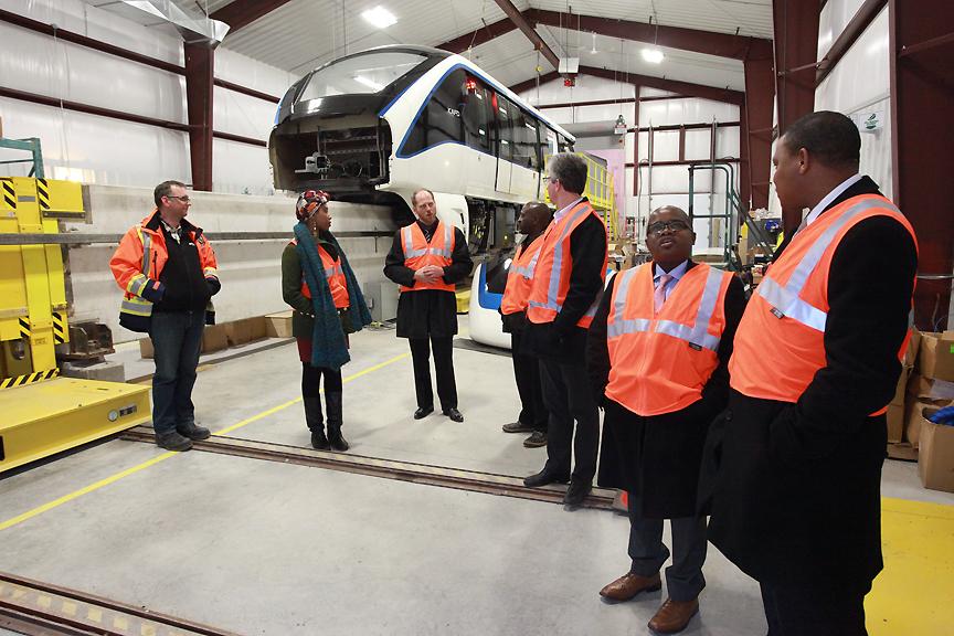 MAPP Africa delegation visit Bombardier