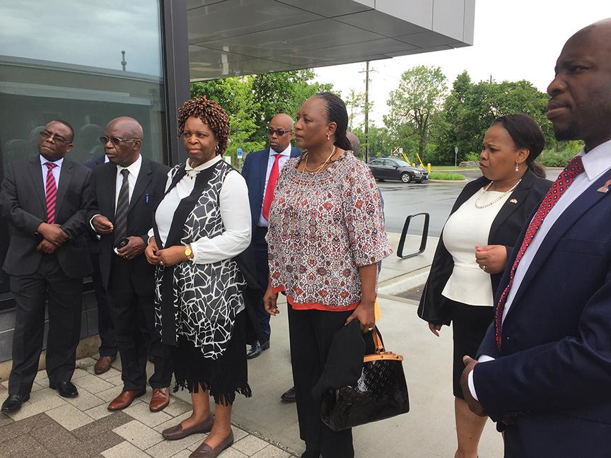 MAPP Africa host the SADC ambassadors delegation