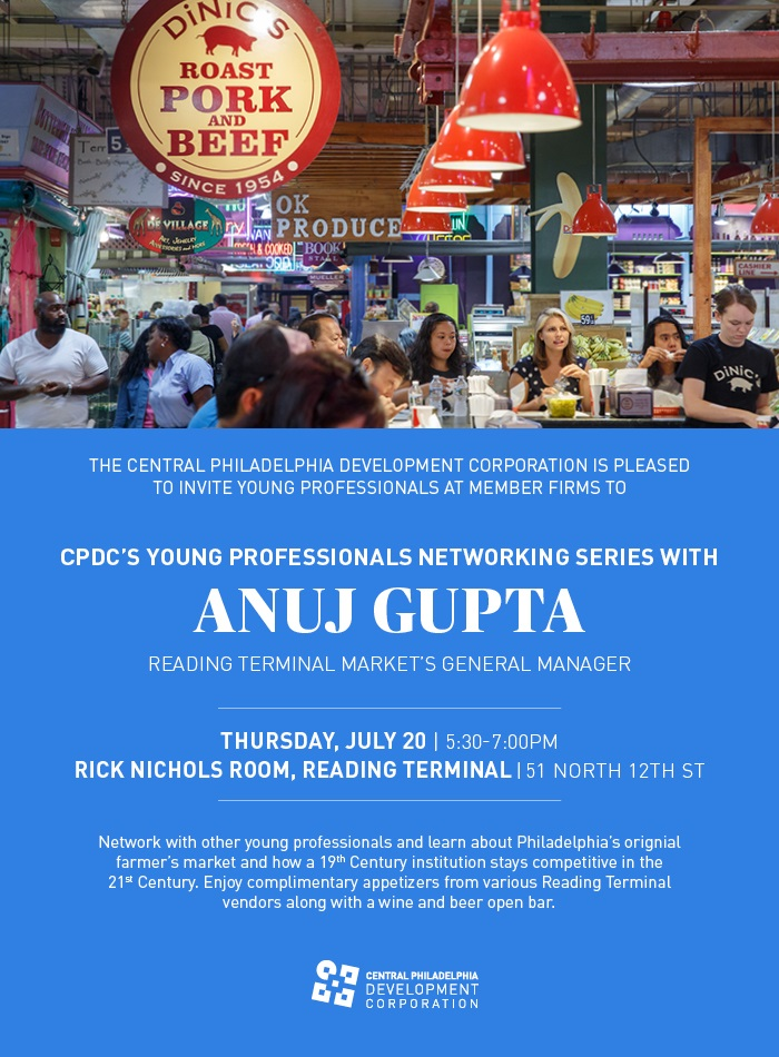 CPDC's Young Professionals Networking Series