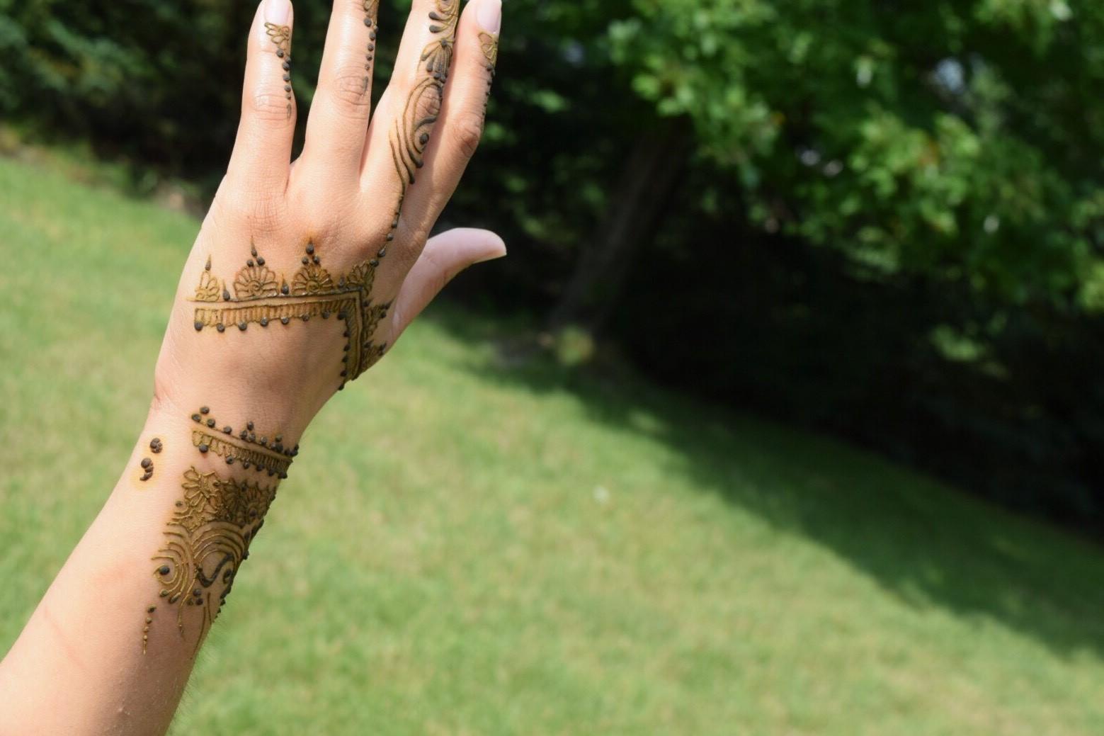 Henna Semicolon