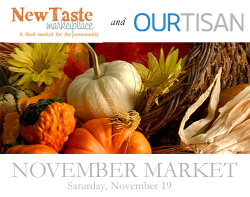 New Taste Marketplace and Ourtisan - November