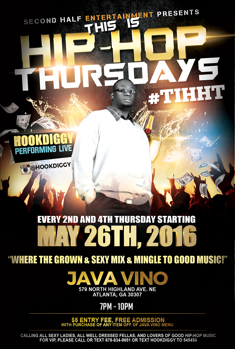 Flyer for This Is Hip-Hop Thursdays