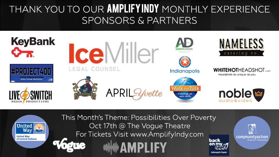 Amplify Indy Monthly Sponsors
