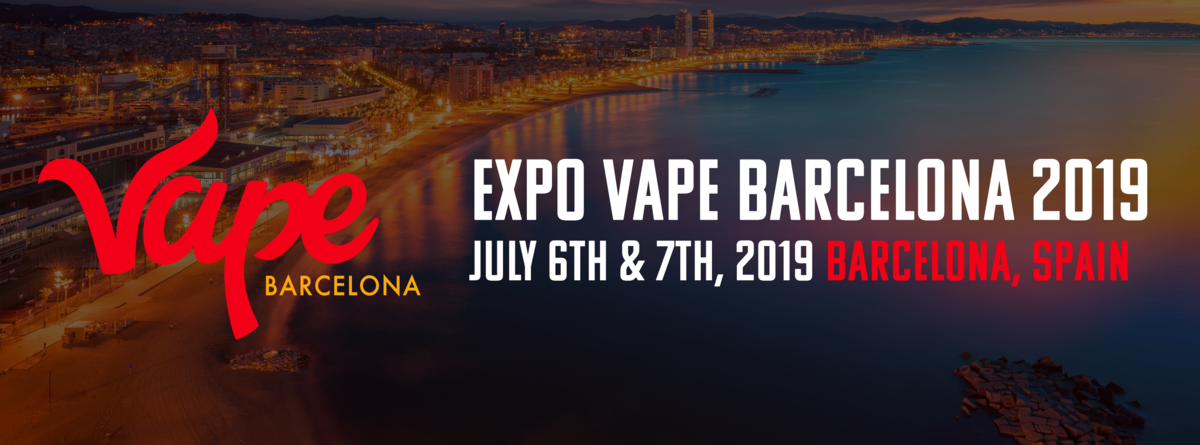 Vape Barcelona Expo 2019 in Spain - Vape Convention Banner