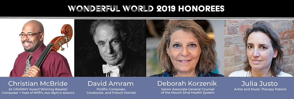 Wonderful World 2019 Honorees