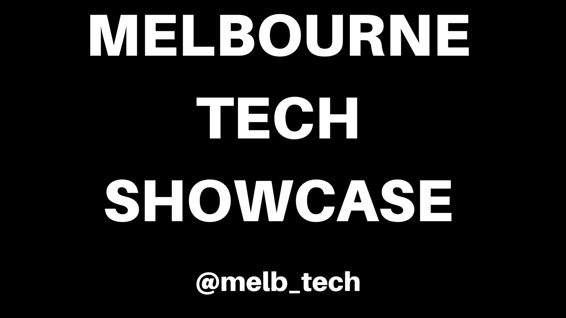 Melbourne Tech