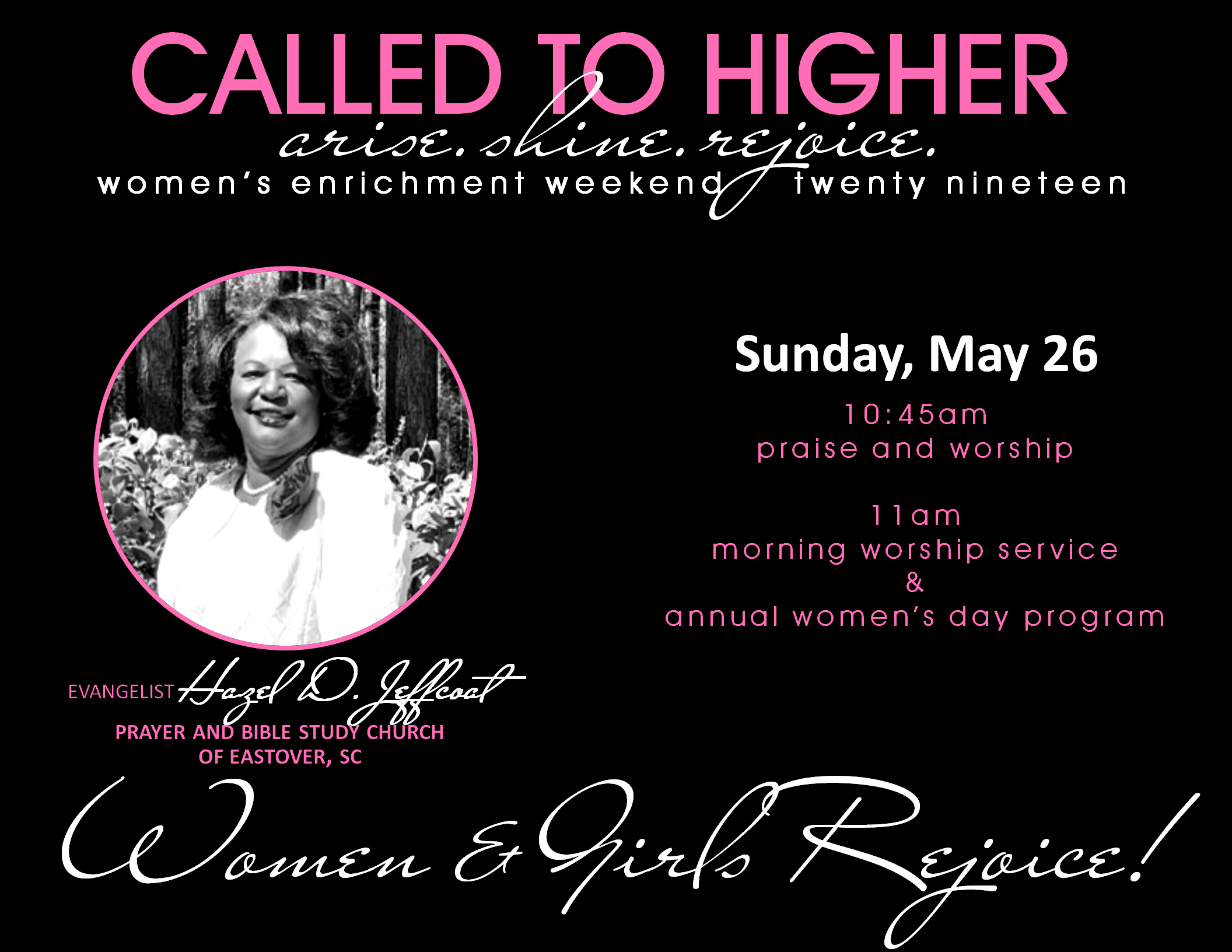 2019 women's weekend sunday