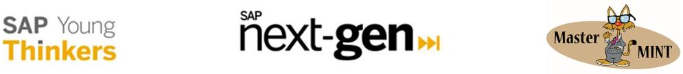 SAP Young Thinkers, SAP Next-Gen und Master Mint Logo