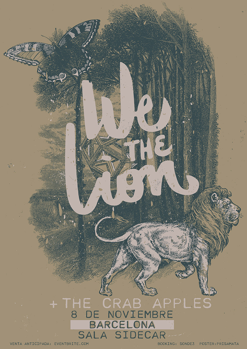 We The Lion - The Crab Apples en Barcelona