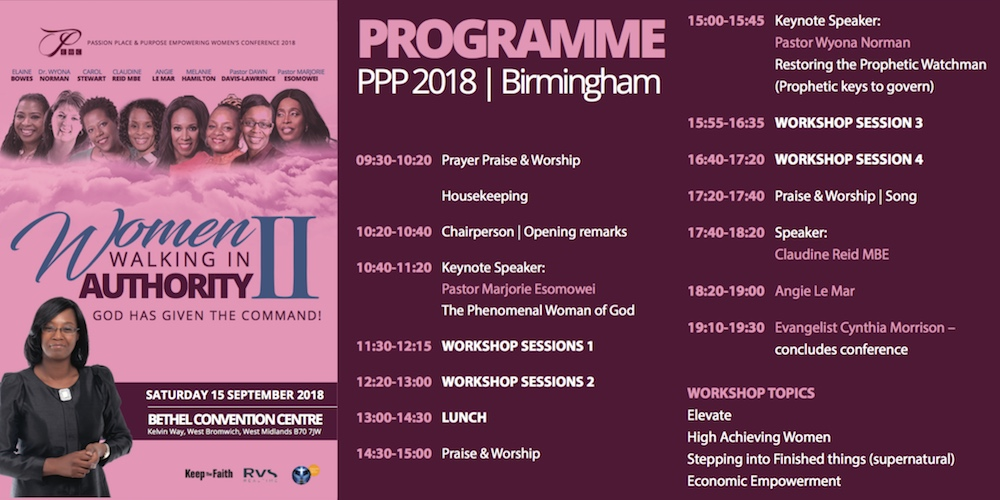 PPP2018 Programme