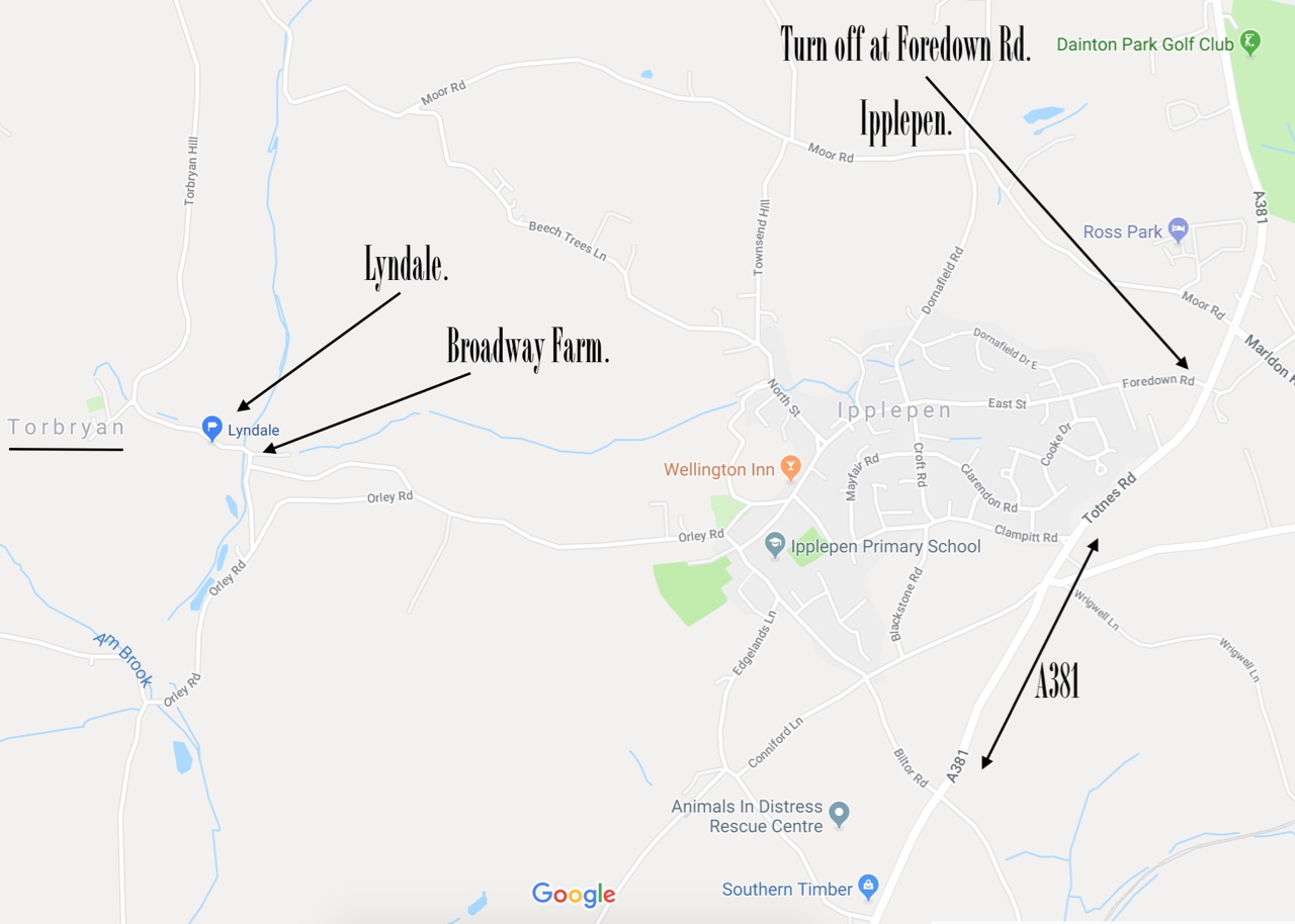 Directions to Torbryan