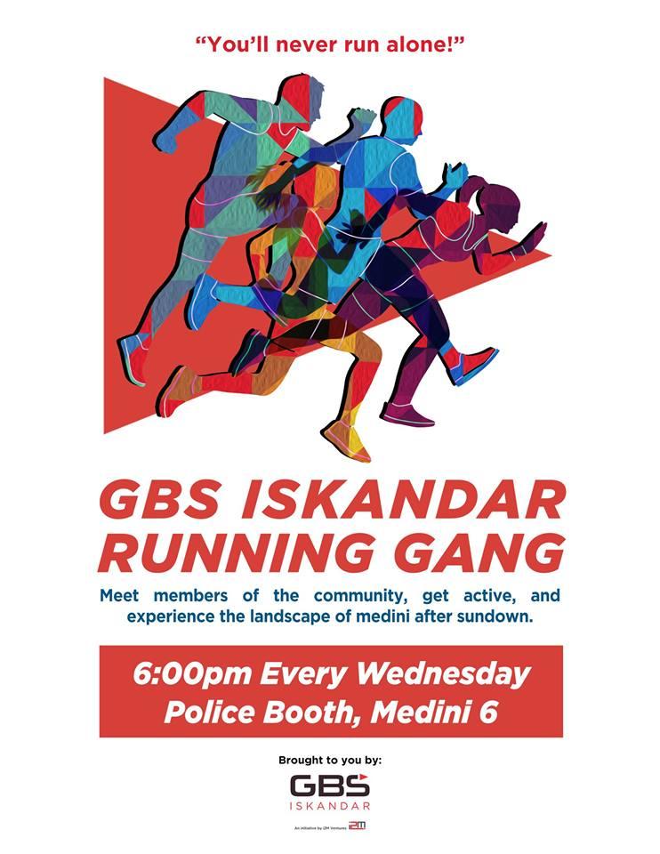 GBS Iskandar Running Gang