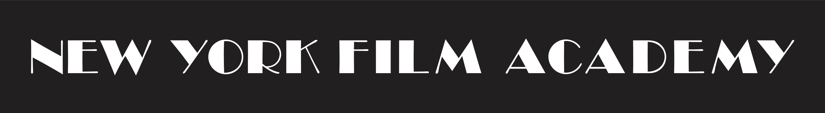 NYFA Black Headline Logo