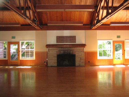 Stinson Beach Community Center Interior