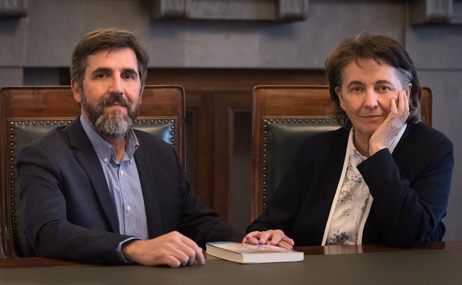 Maria Ibáñez y Jesús Jiménez