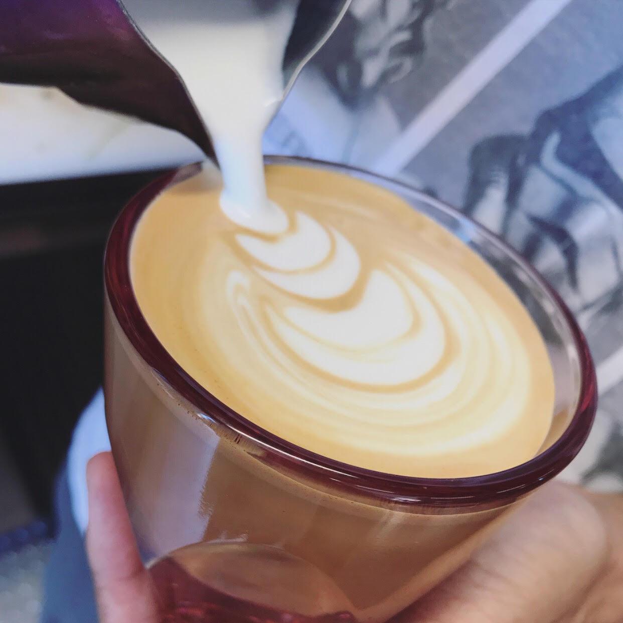 Creatures of Habit Gibby Latte Art