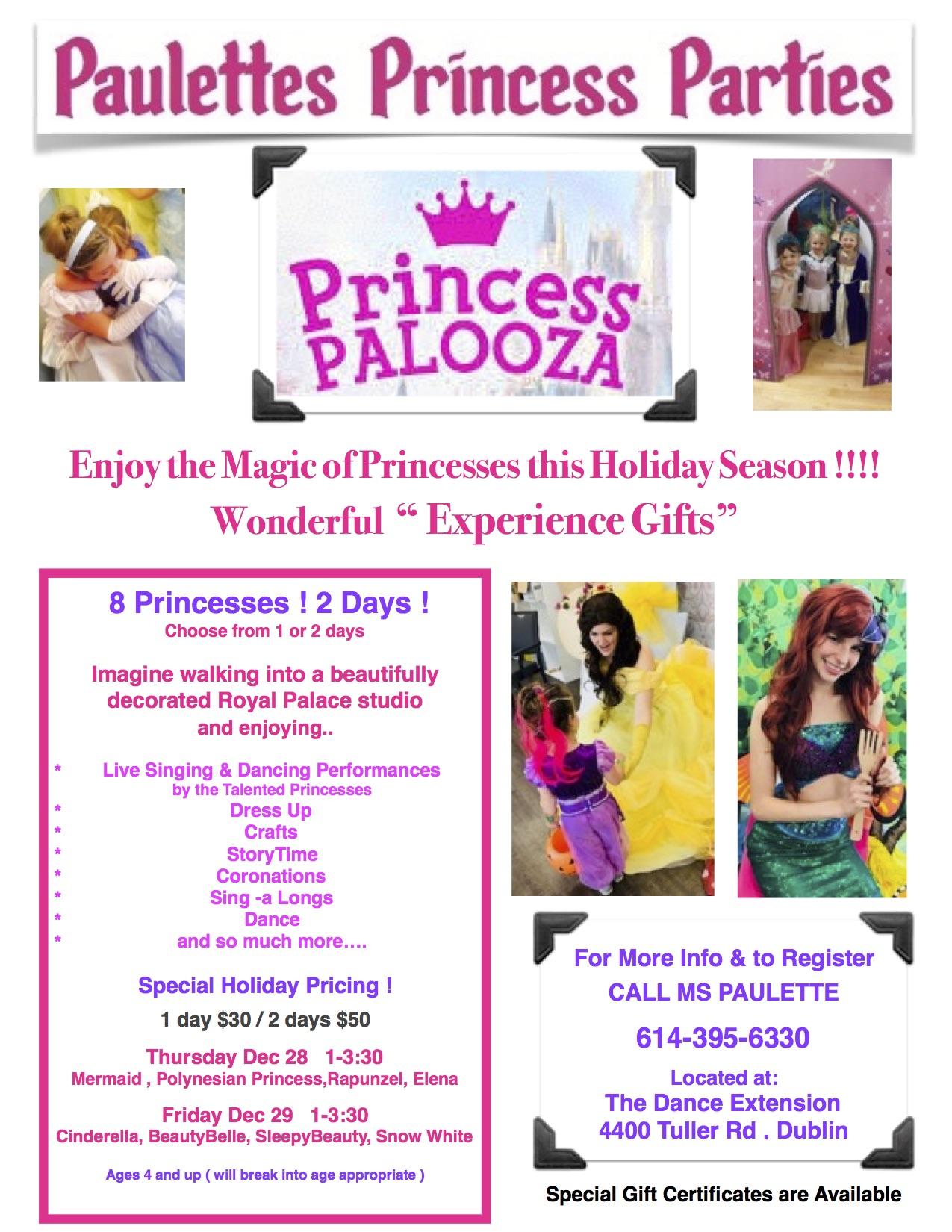 Flyer For Princess Palooza