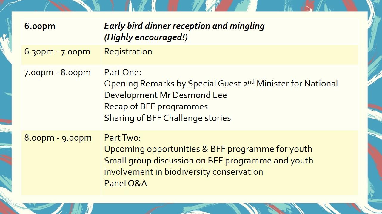 BFF 2018 Programme
