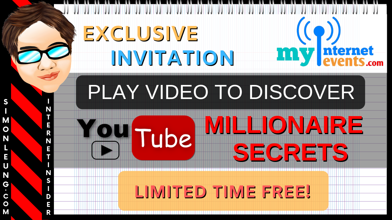 youtubers millionaire secrets myinternetevents
