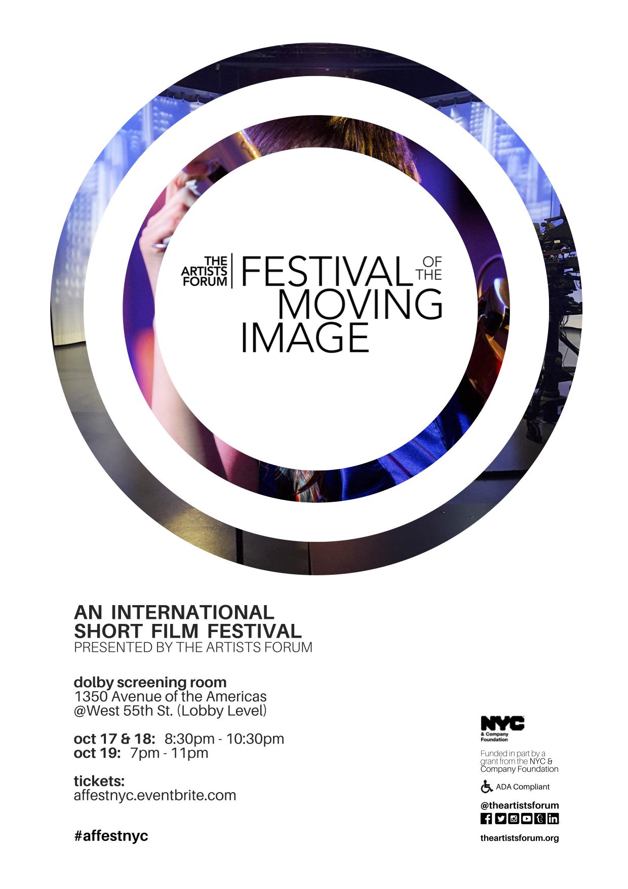 2019 #AFFESTNYC Flyer Image