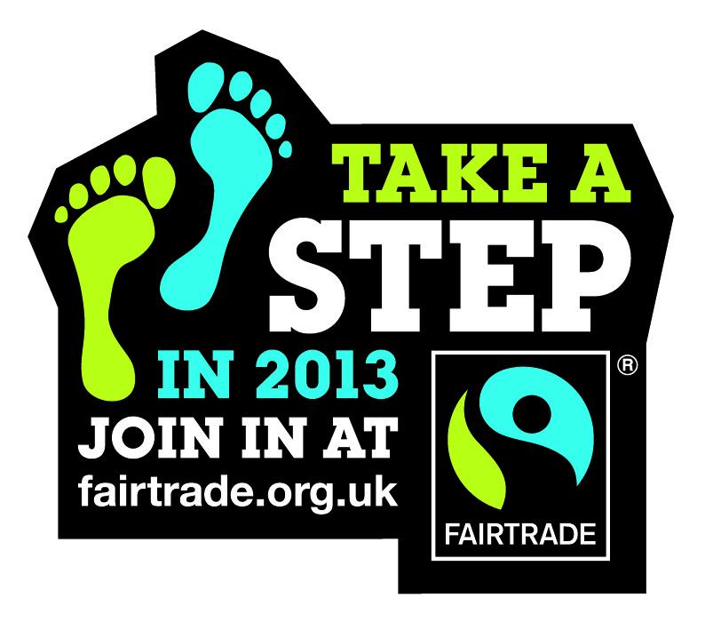 Take a Step for Fairtrade Logo