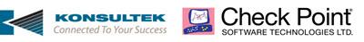 Konsultek and Check Point Logos