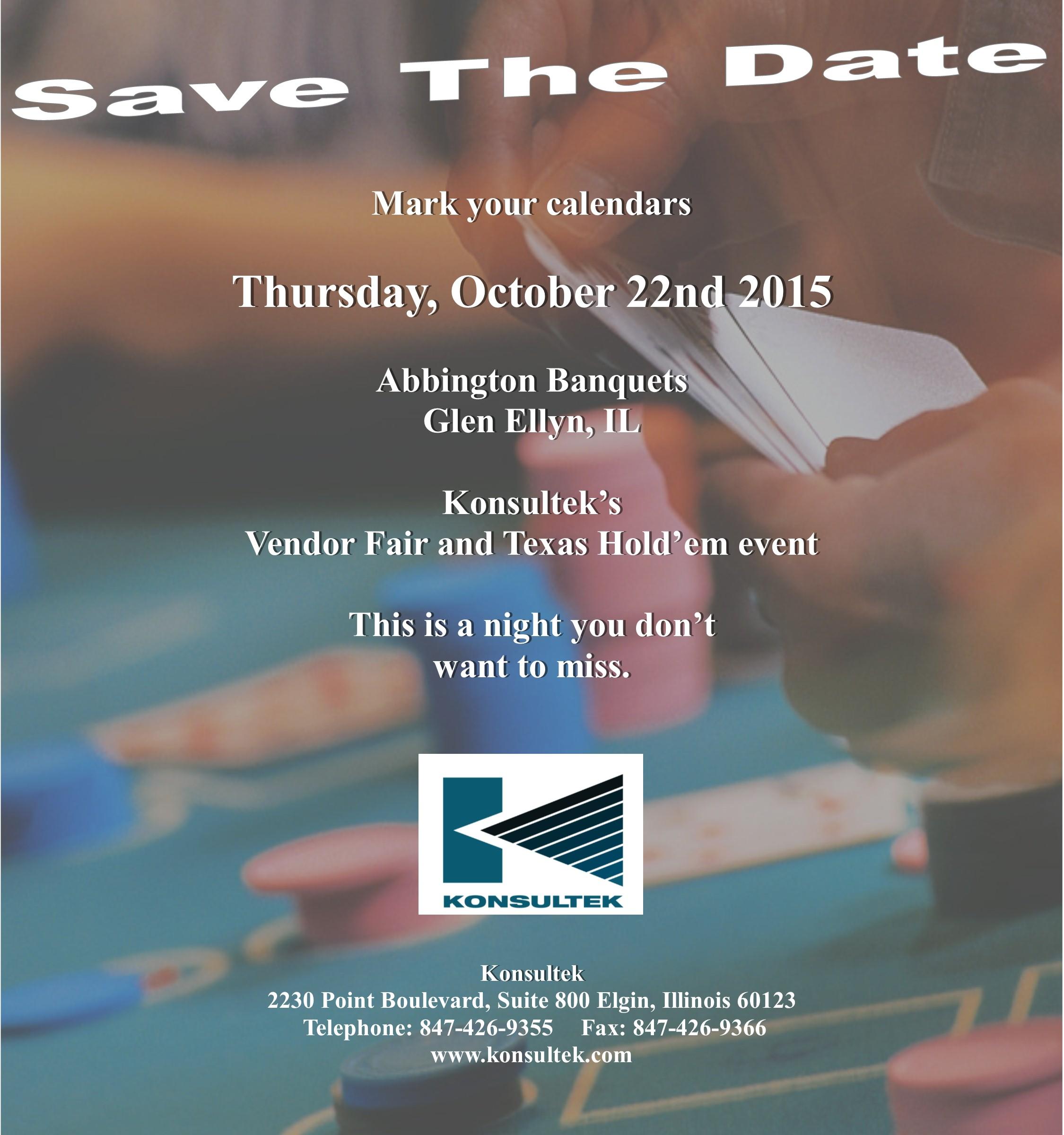 Texas Hold 'em October 16, 2013