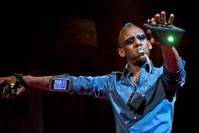 Onyx Ashanti performs