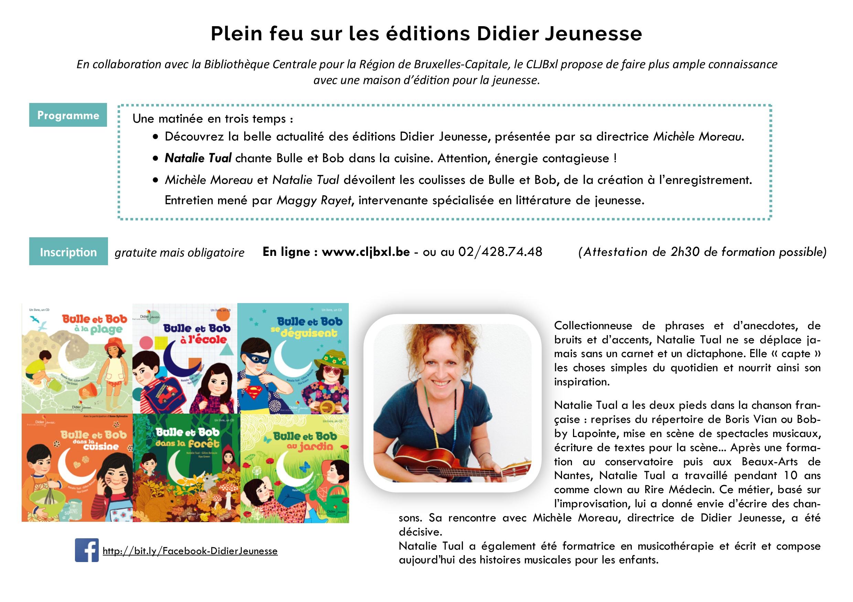 Dépliant plein feu sur les éd. Didier Jeunesse page 2