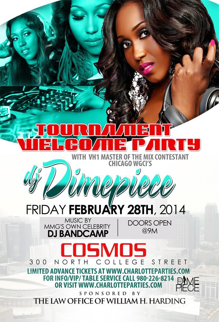 Friday Night @ Cosmos DJ DimePiece CIAA Weekend