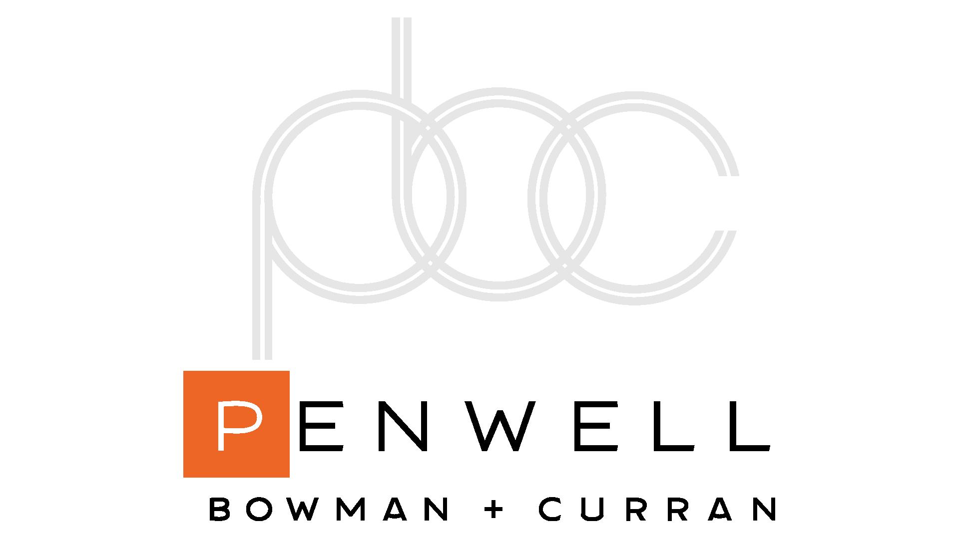 Penwell Bowman + Curran logo