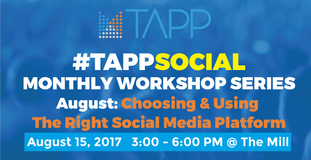 Tapp Social Monthly Nonprofit Choosing and Using the right Social Media Platform