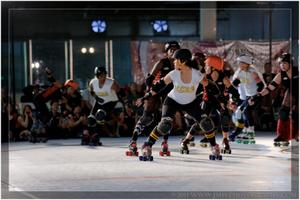 OC Roller Girls vs. Inland Empire & San Diego Derby Dolls:...