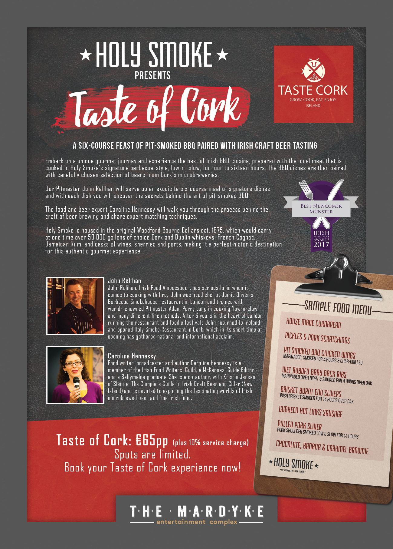 Taste of Cork Holy Smoke BBQ