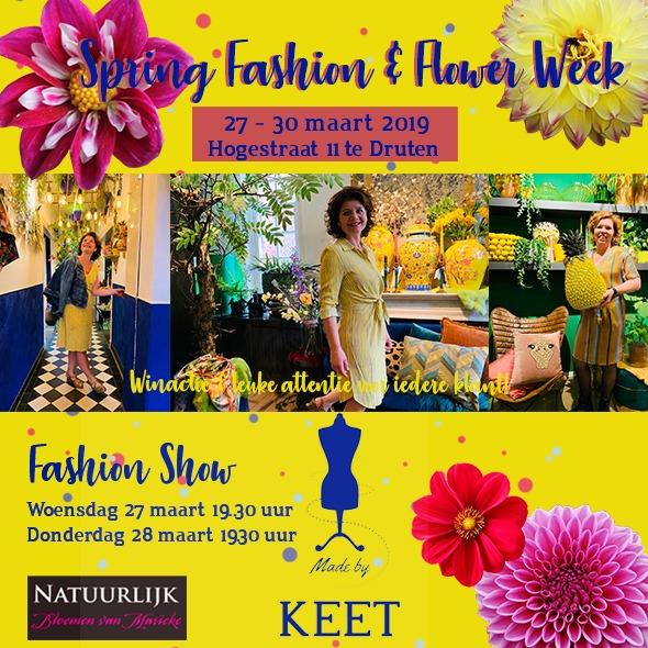 Spring Fashion en Flower Show