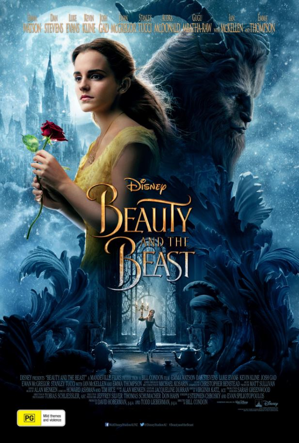 Beauty & the Beast 2017 Movie Cover