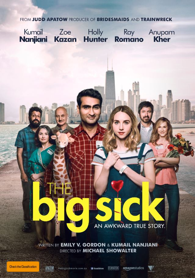 The Big Sick Movie Cover